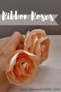 Ribbon Roses pin 1