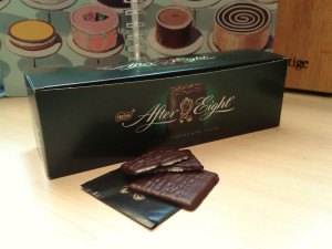 what do After Eights mints look like